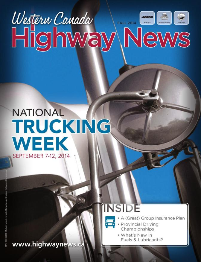 Western Canada Highway News Fall 2014