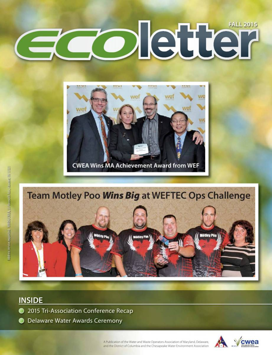 Ecoletter Fall 2015