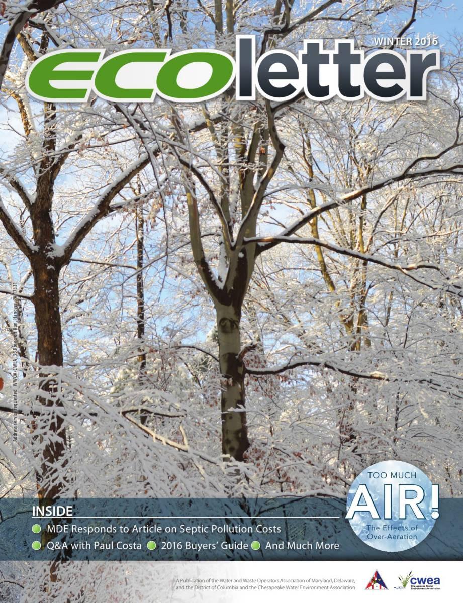 Ecoletter Winter 2016